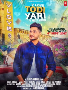 Todi Yaari Lyrics V Love Punjabi Song