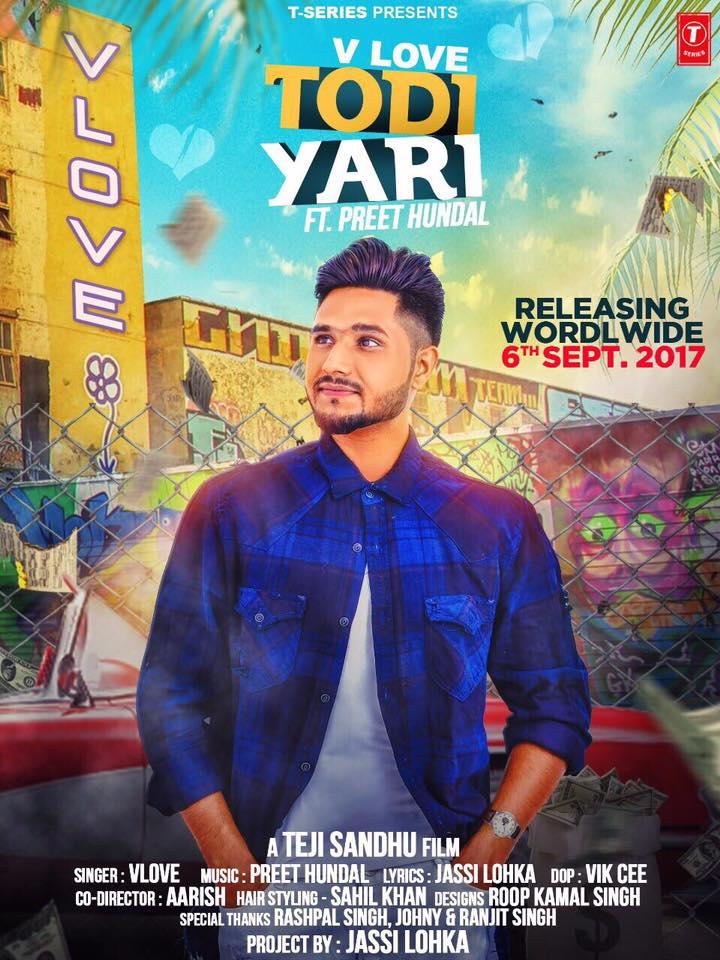 Todi Yaari Lyrics V Love Punjabi Song