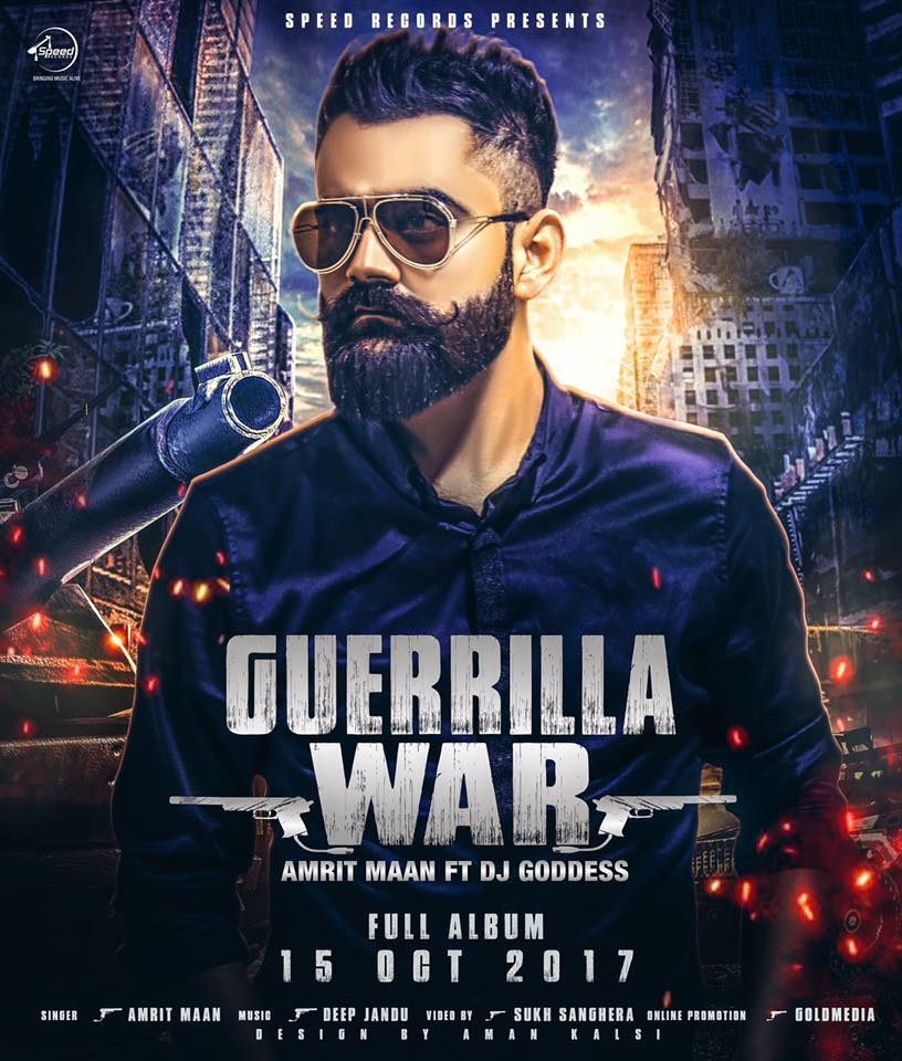 Guerrilla War Lyrics - Amrit Maan