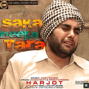Saka Neela Tara Lyrics - Harjot