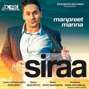 Siraa Lyrics Manpreet Manna
