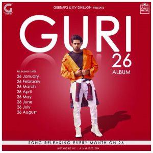 26 Guri Full album Songs Lyrics | Punjabi Songs