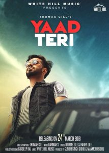 Yaad Teri Lyrics - Thomas Gill