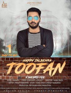 Toofan Happy jalbehra Song Lyrics
