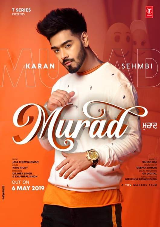 Murad Lyrics By Karan Sehmbi