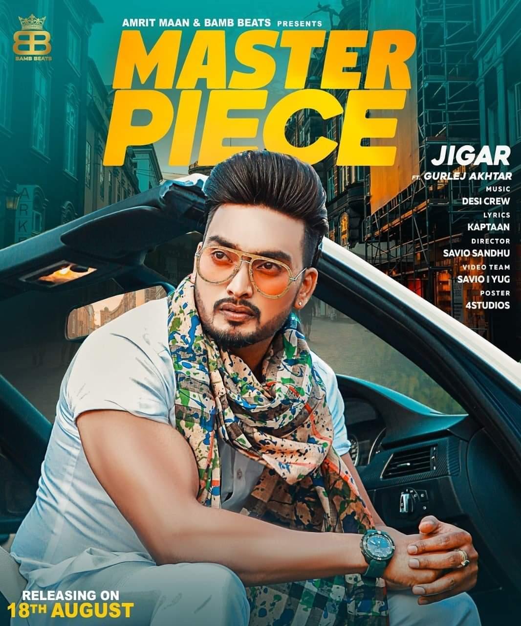 Master Piece Jigar Lyrics