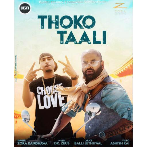 Thoko Taali Lyrics – Zora Randhawa | New Punjabi Song